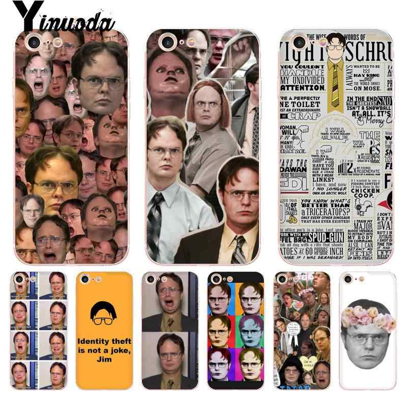 Yinuoda For iphone 7 6 X Case Best of Dwight Schrute Coque