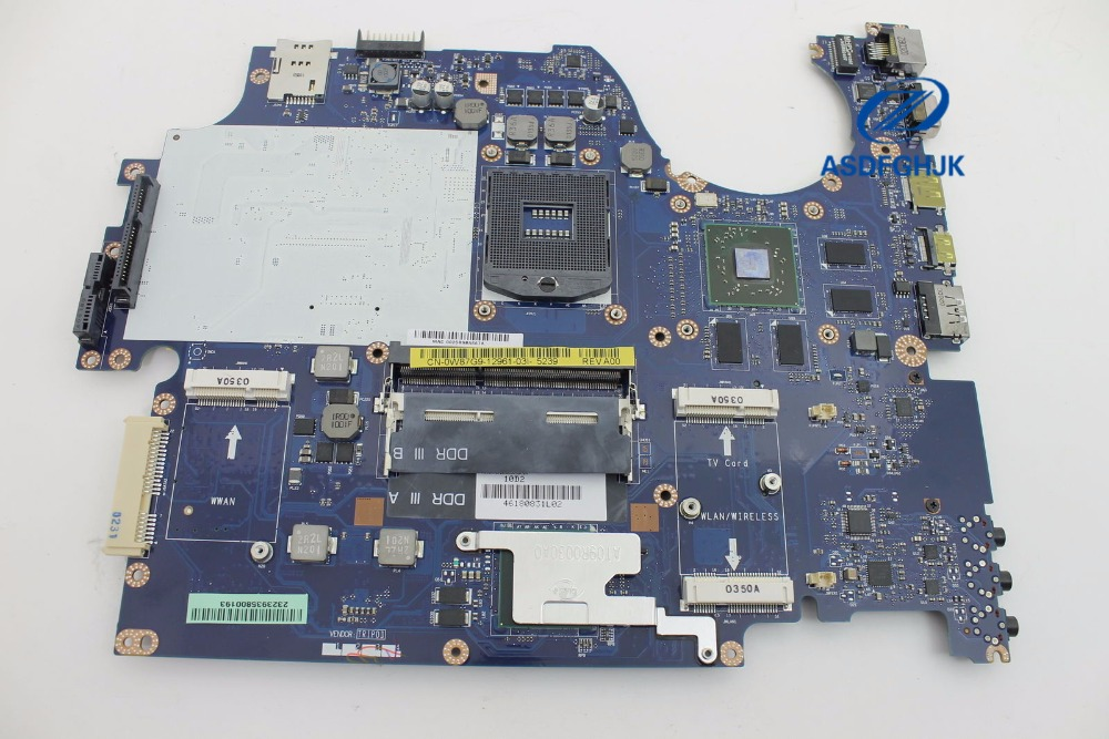 For Dell  For Studio 1749 Laptop Motherboard W87G9 0W87G9 CN-0W87G9 La-5155p Motherboard ATI 1GB HM55 100% Tested Ok