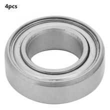 4pcs 7*13*4mm SMR137ZZ Stainless Steel Single Row Column Deep Groove Ball Bearings Double Sided Sealing Metal Shielded Bearings 1pcs 1215 1215k 75x130x25 111215 mochu self aligning ball bearings tapered bore double row high quality