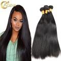 Malaysian Virgin Hair 4 Bundle Deals Malaysian Straight Hair Style 100% 7A Unprocessed Virgin Human Hair Extension Bundle Deals