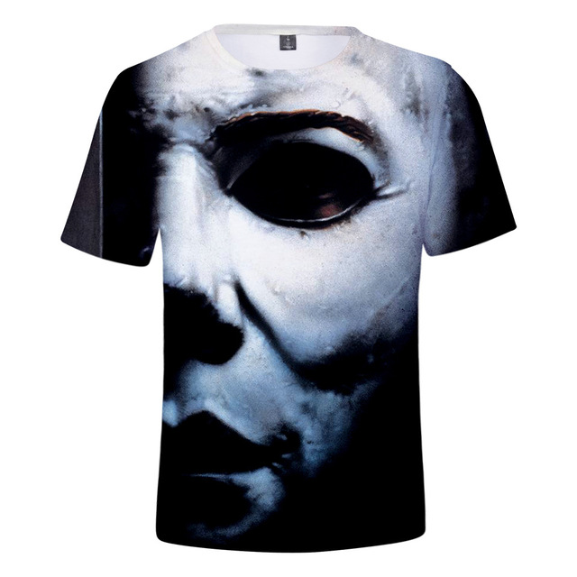Michael Myers T Shirt Men Women Kid Tshirt Halloween Horror Movie