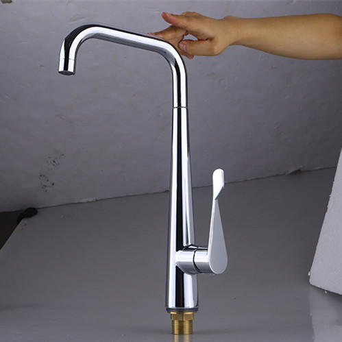 Free Shipping Copper Kitchen Faucet With High Quality Chrome Kitchen