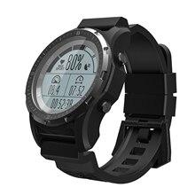 Купить с кэшбэком RUIJIE S966 GPS Smart Watch Waterproof Heart Rate Altitude Meter Temperature Compass Multi-sport Men Sport Smartwatch