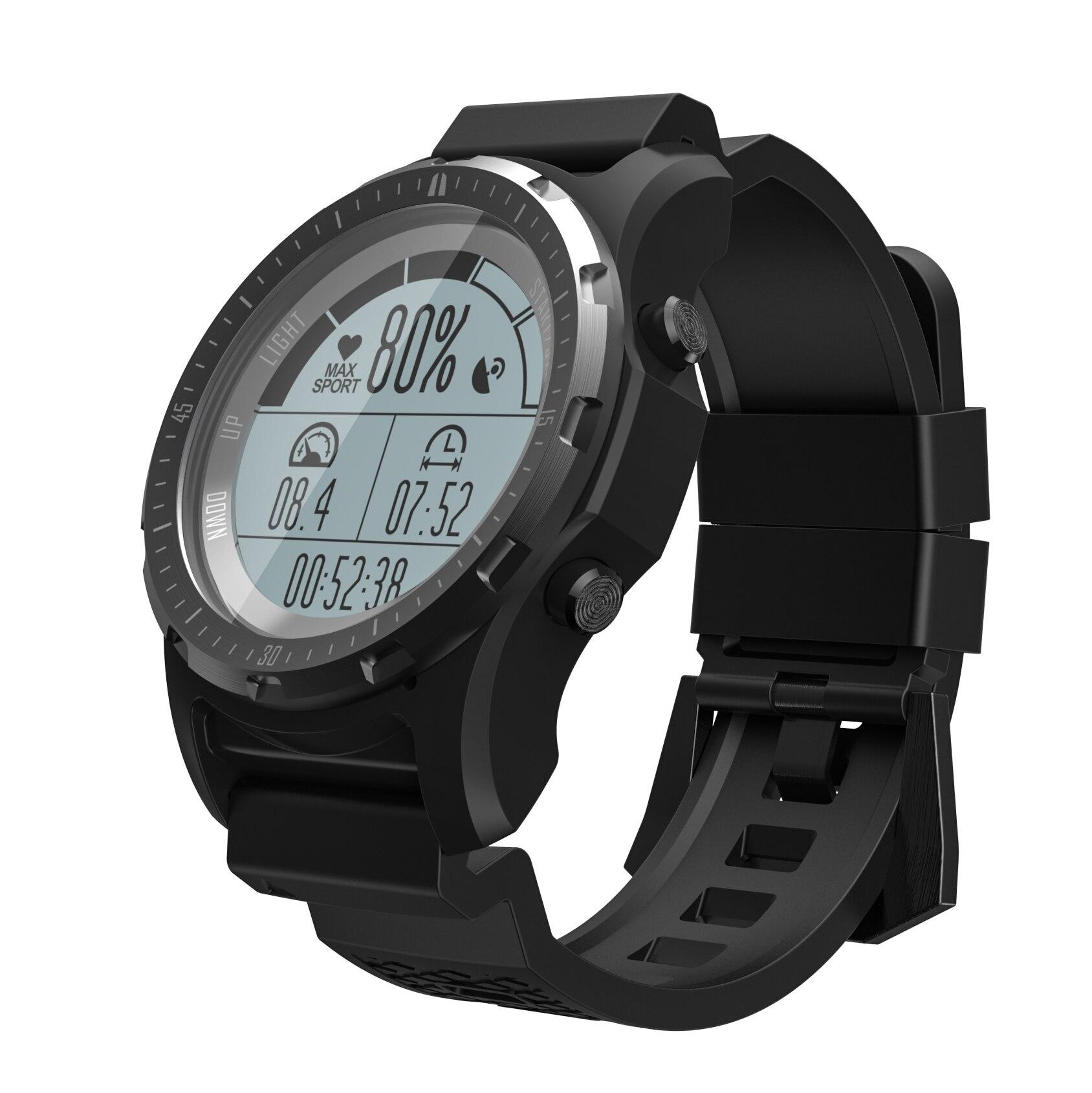 RUIJIE S966 GPS Smart Watch Waterproof Heart Rate Altitude Meter Temperature Compass Multi sport Men Sport Smartwatch