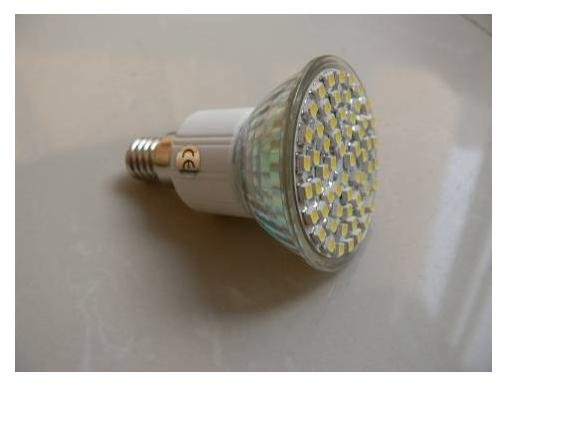 SMD LED Spot light;PAR20 base;30pcs 3528 led;120lm;2800K-3300K,warm white