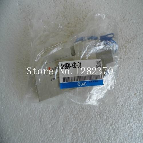 [SA] New Japan genuine original SMC solenoid valve SY9120-1GD-03 spot brand new japan smc genuine valve vex1a33 01