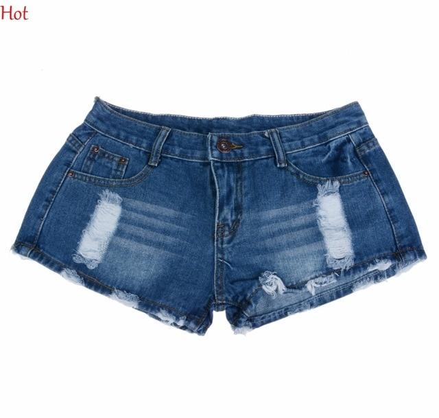 Vente chaude 2016 nouvelle arrivée d été femmes de mode short en jean trous  Amérique 4ec70b91066