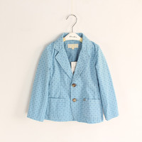 Free Shipping Wholesale 6pcs Lot Baby Boys Fashion Outerwear Suit Kids Spring Autumn Outerwear Jacket Child
