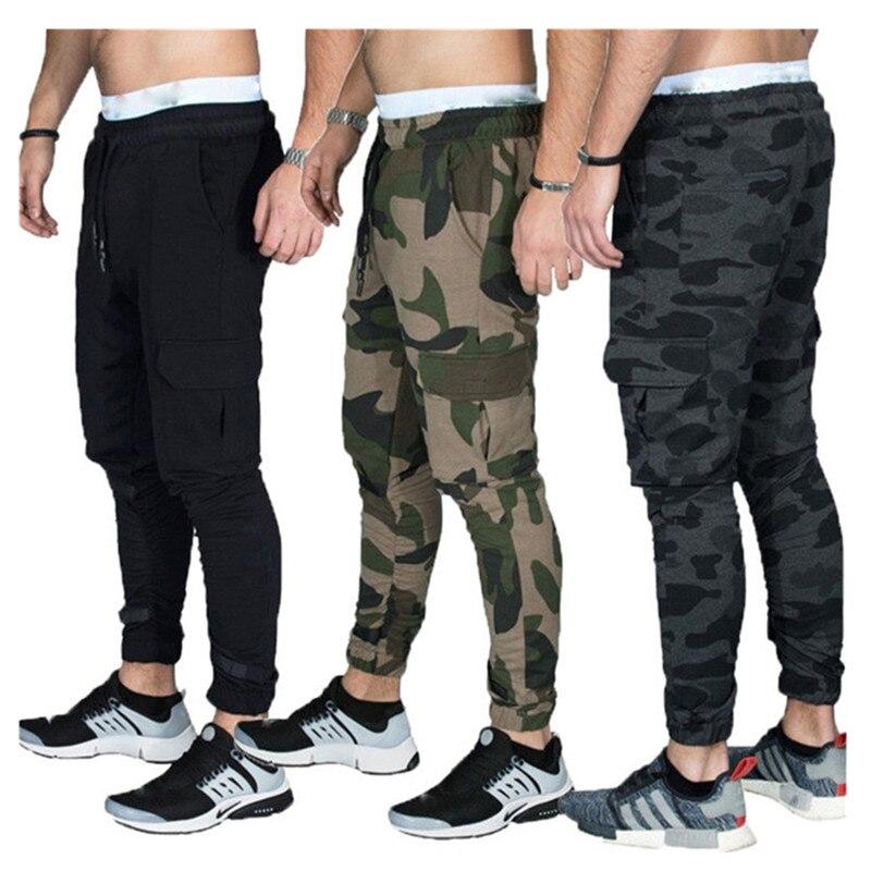 Mens 2019HOT casual military camo pants training overalls harem