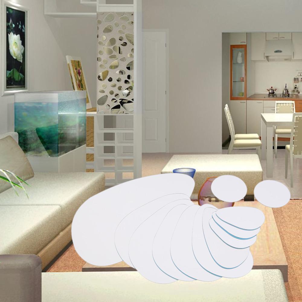 unid acrlico etiqueta de la pared pegatinas de pared decoracin para el hogar moderno piedra