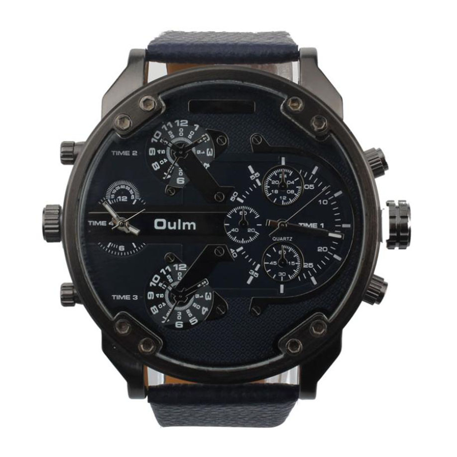 Xiniu New Brand Men's Watch Luxury Military Army Dual Time Quartz Large Dial Wrist Watch Men Watches Clock Relogio Masculino mance luxury men s watches fashion brand dragon rome digital leather hollow dial quartz wrist watch relogio masculino time clock