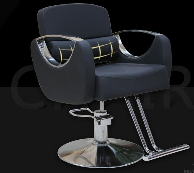 Barber Chair Beauty Salon Salon Hairdressing Chair Beauty Chair Lift Hair Chair Swivel Chair Capacity Chair Hydraulic Chair. hair salon barber chair hairdressing chair put down the barber chair