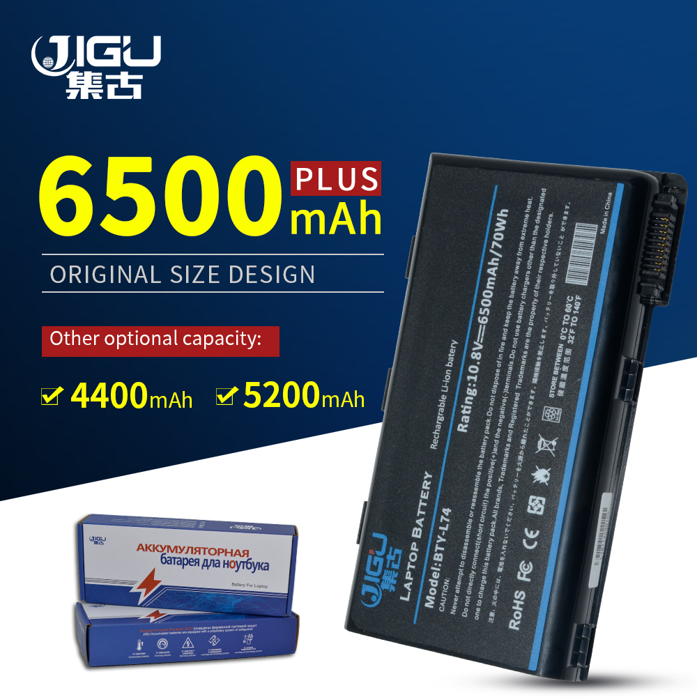 JIGU Laptop Battery For <font><b>MSI</b></font> CX620X CX630 CX700 GE700 EX460 CX705MX CX610 CX620 <font><b>CX620MX</b></font> EX610 CX623 CX705 image