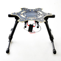 F10059 Electric Retractable Landing Gear Skid Upgrade PCB Centre Board For FPV DJI F550 Hexacopter RC