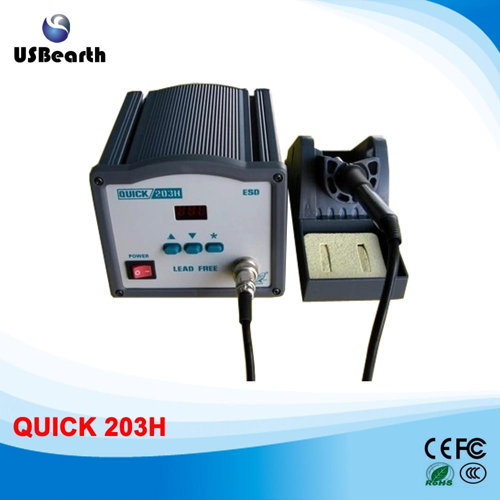 QUICK 203H unleaded soldering station welding machine quick 203h unleaded soldering station welding machine