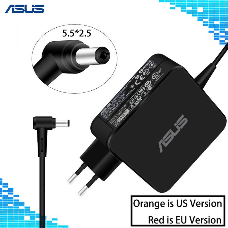For Asus Laptop Adapter 19V 3.42A 65W 5.5*2.5mm ADP-65AW A CC A AC Power Charger For ASUS X45A X501A X550 X 550ZA X550LA F555 19v 4 74a 90w laptop charger ac power adapter for asus x53s x53t x53u x53x x53z x54 x54c x54f x54h x54k x54l x54x x55 x550 x550a