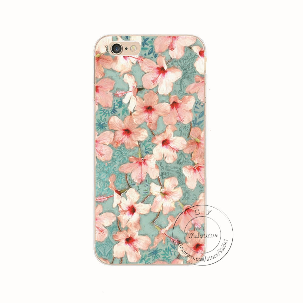info for 686d9 58124 US $0.97 42% OFF|Mandala Flower Datura Floral Printing Phone Case Cover For  Coque iPhone X XS Max XR 5 5S SE 5C 6 6S 7 8 Plus 8Plus Fundas Shell-in ...