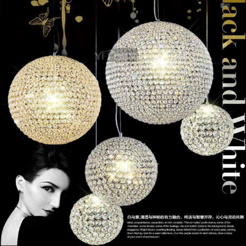 dia60cm kristall runde schatten lampe led k9 pendelleuchten kristallkugel treppe kreis lampe. Black Bedroom Furniture Sets. Home Design Ideas