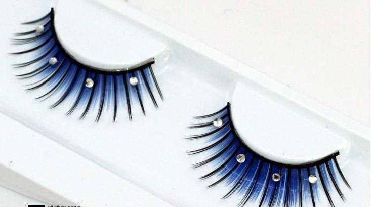 Popular False Eyelashes Blue-Buy Cheap False Eyelashes Blue lots ...