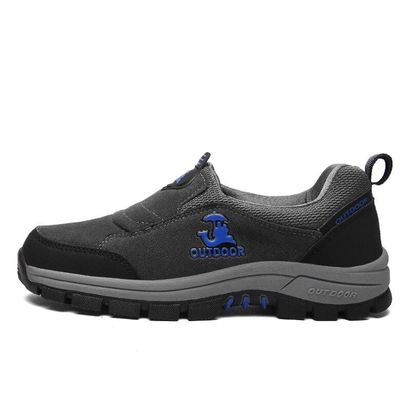 Hiking Shoes Men Walking Shoes Big Size Outdoor Shoes Men Climbing Mountain Boots Autumn/Winter Slip On Trekking Sneakers Men фильтр для воды atoll a 560e a 550 std