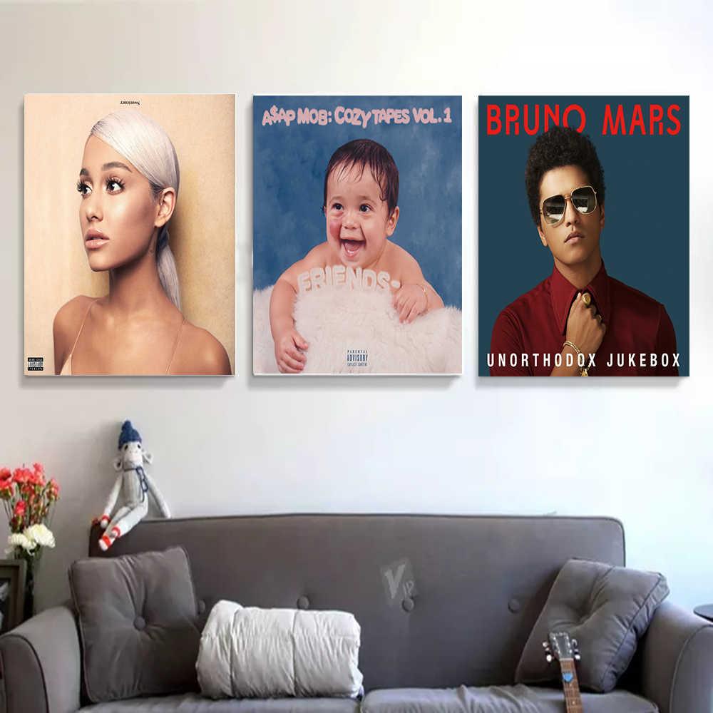 Seni Poster Eddie Vedder Penyanyi Musik Rock Dinding Kanvas Cetak Lukisan Modern Rumah Decor14x21 12X18 24X36 27X40
