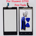 Touch Screen Mobile Phone Front Glass Sensor Screen For Huawei G700 5.0 inch Digitizer Panel Touchscreen + Tools Free Shipping