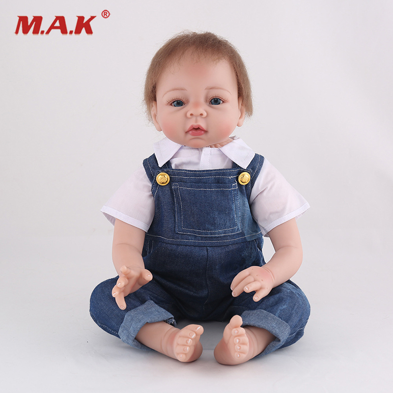 22 inches New Handmade Baby Reborn Dolls Bebe Lifelike Silicone Reborn Doll for Girls Christmas  Gift handmade chinese ancient doll tang beauty princess pingyang 1 6 bjd dolls 12 jointed doll toy for girl christmas gift brinquedo