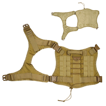 Water Resistant Military Dog Training  Vest With Detachable Molle Pouches