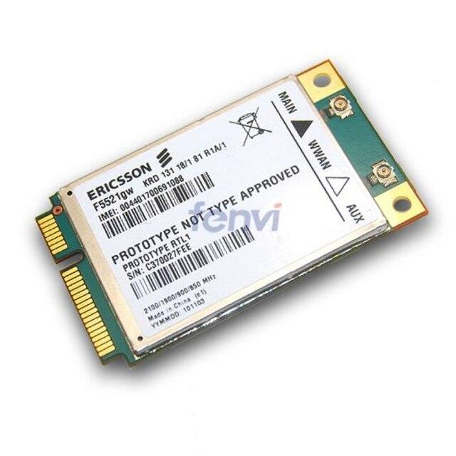Универсальный Ericsson F5521GW Беспроводной WWAN 3 Г Карта 21 Мбит HSPA + HSPA/EDGE/GPRS/GSM Модуль модем для Dell Acer Asus