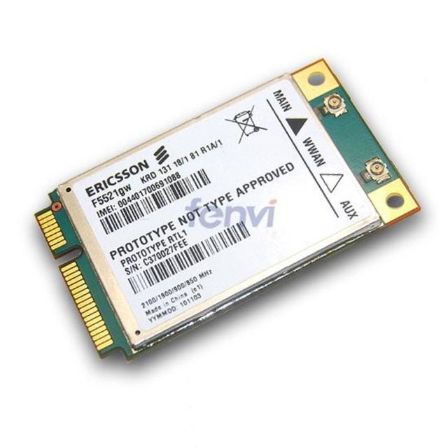 Universal Cartão F5521GW Ericsson WWAN Sem Fio 3G 21 Mbps HSPA + HSPA/EDGE/GPRS/GSM Módulo Modem para Dell Acer Asus