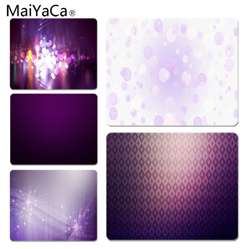 MaiYaCa Purple Circles Customized laptop Gaming mouse pad Size for 25X29cm Gaming Mousepads