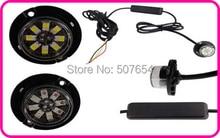 Higher star DC10 30V 8W car Led Hideaway warning Lights grill emergency lamp strobe light kit