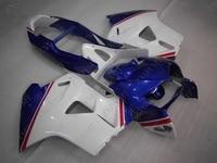 Пластиковые обтекатели для Honda VFR800 1998 2001 синий белый Abs обтекатель для Honda VFR800 2001 Обтекатели VFR 800 1998
