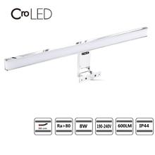 цена на CroLED Wall Lamp Waterproof Bathroom Fixtures Makeup Toilet bar Led Light 8W 600LM Front Mirror Lighting IP44 Warm/Cold White