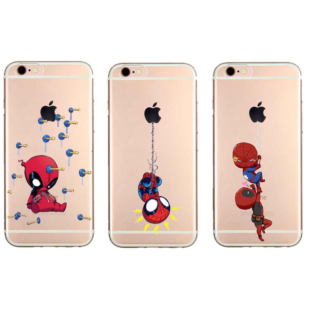 custodia iphone 7 marvel