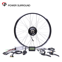 Waterproof 48v500w Bafang Cst Rear Cassette Electric Bike Conversion Kit Brushless Hub Motors 20'' 26'' 28''Motor Wheel