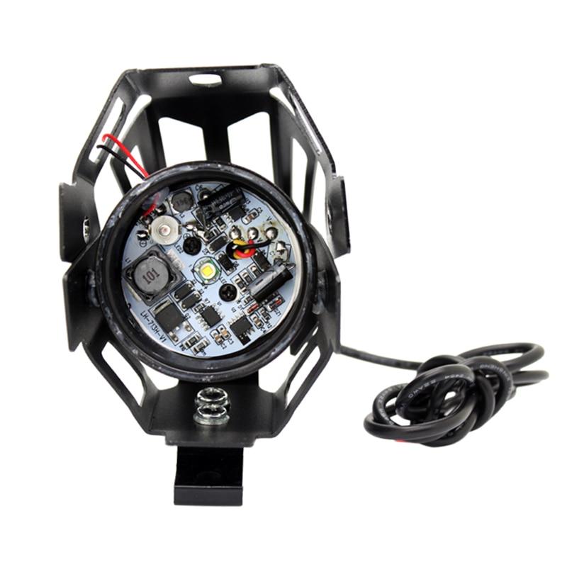 SUNKIA 2Pcs / Lot Devil Eye 12-80V CREE Chip U7 LED Avtomobil DRL - Avtomobil işıqları - Fotoqrafiya 4