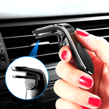 Mini Magnetic Car Phone Holder For iPhone 6 7 8 XS Max Xiaomi Huawei Samsung S8 S9 Air Vent Mount Dashboard GPS