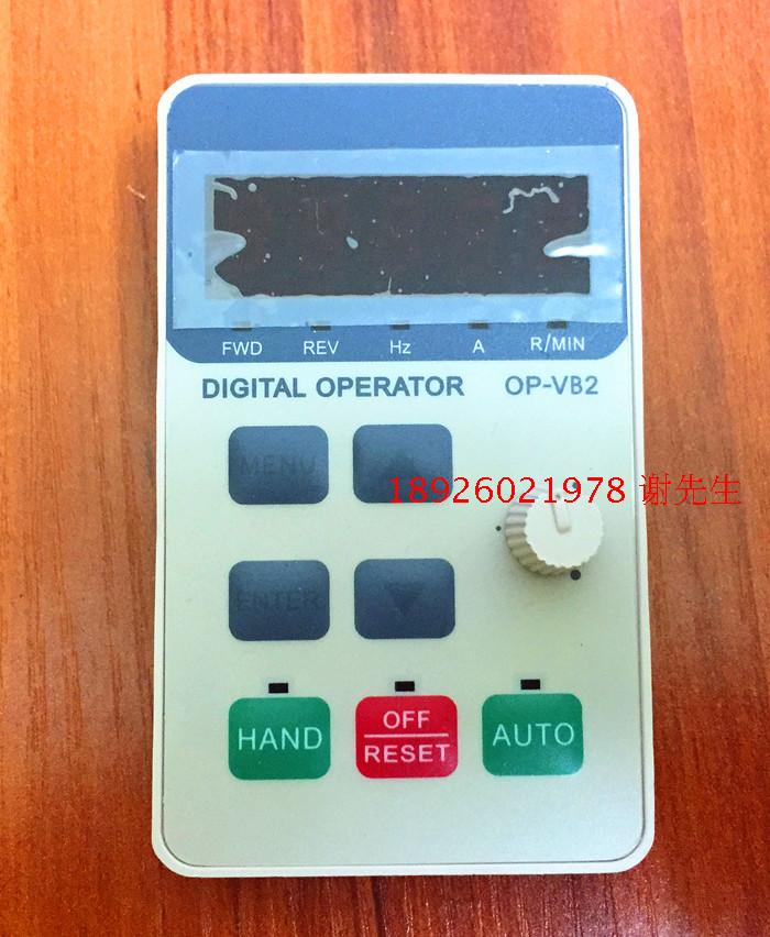 Inverter operation panel  OP-VB2  HLP-NV Operation keyboard speed control panel With potentiometer  цены