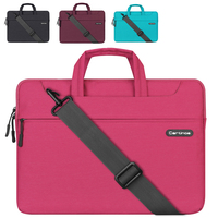 Laptop Notebook Briefcase Bag Waterproof Polyester With Zipper 11 12 13 15 Inch For Macbook