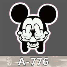 A-776 Car styling Home decor jdm car sticker  auto laptop sticker decal motorcycle fridge skateboard doodle stickers car-styling