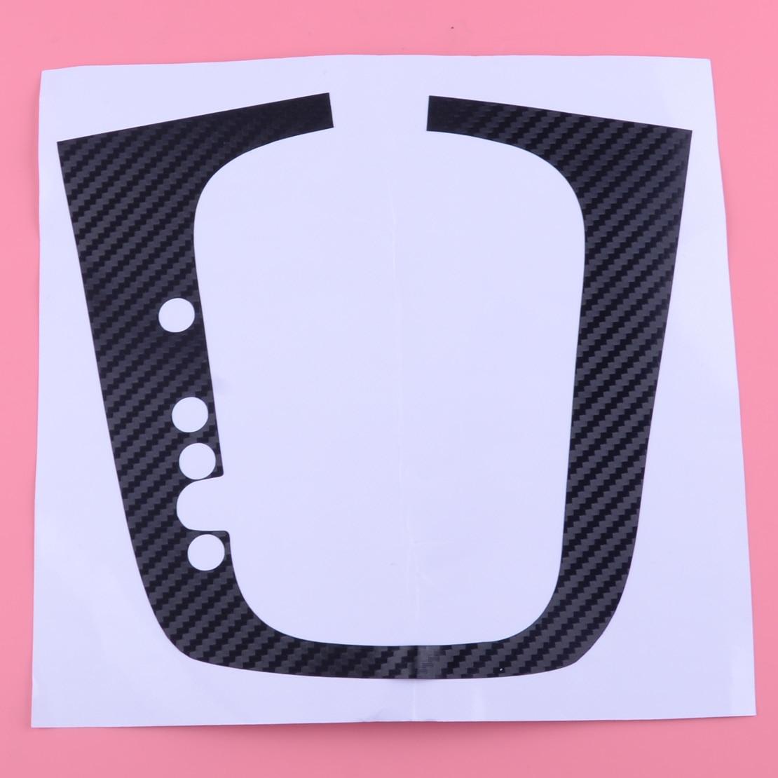 DWCX Car Carbon Fiber DSG Gear Shift Knob Panel Decal Sticker Fit For VW Volkswagen Golf MK6 GTI R20 LHD