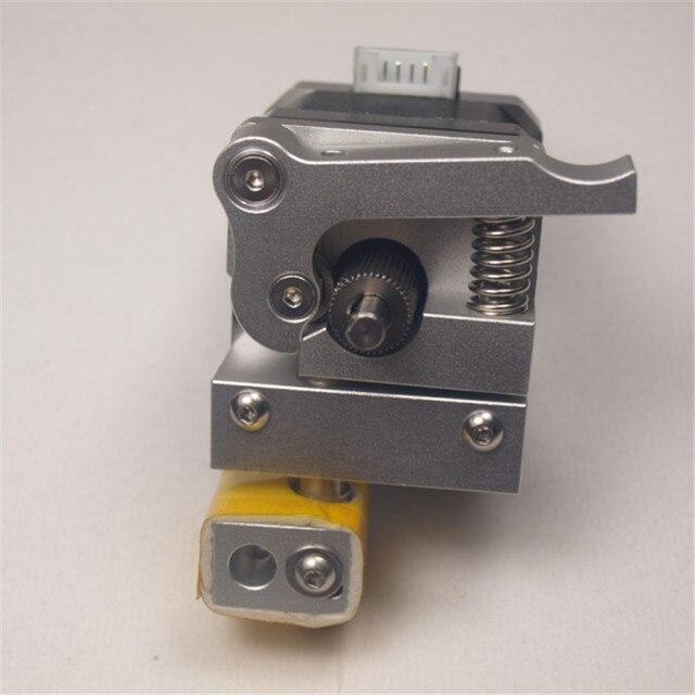 I3 Wanhao 3D принтер Обновление MK10 PTFE выстроились Hotend металла экструдер комплект для Wanhao i3 0.4 мм 1.75 мм нет двигателя