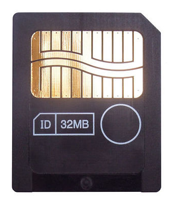32MB 3.3V  Smart Media Card Made By TOSHIBA SmartMedia Card SM Memory Card  SD Card For Electronics Used Item NOT New