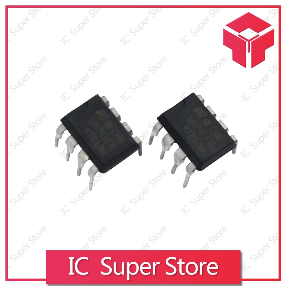 10pcs Dip8 Ua741cn Ua741cp Ua741 Lm741 741 Best Quality New Original Amplifier Circuit In Integrated Circuits From Electronic Components Supplies On
