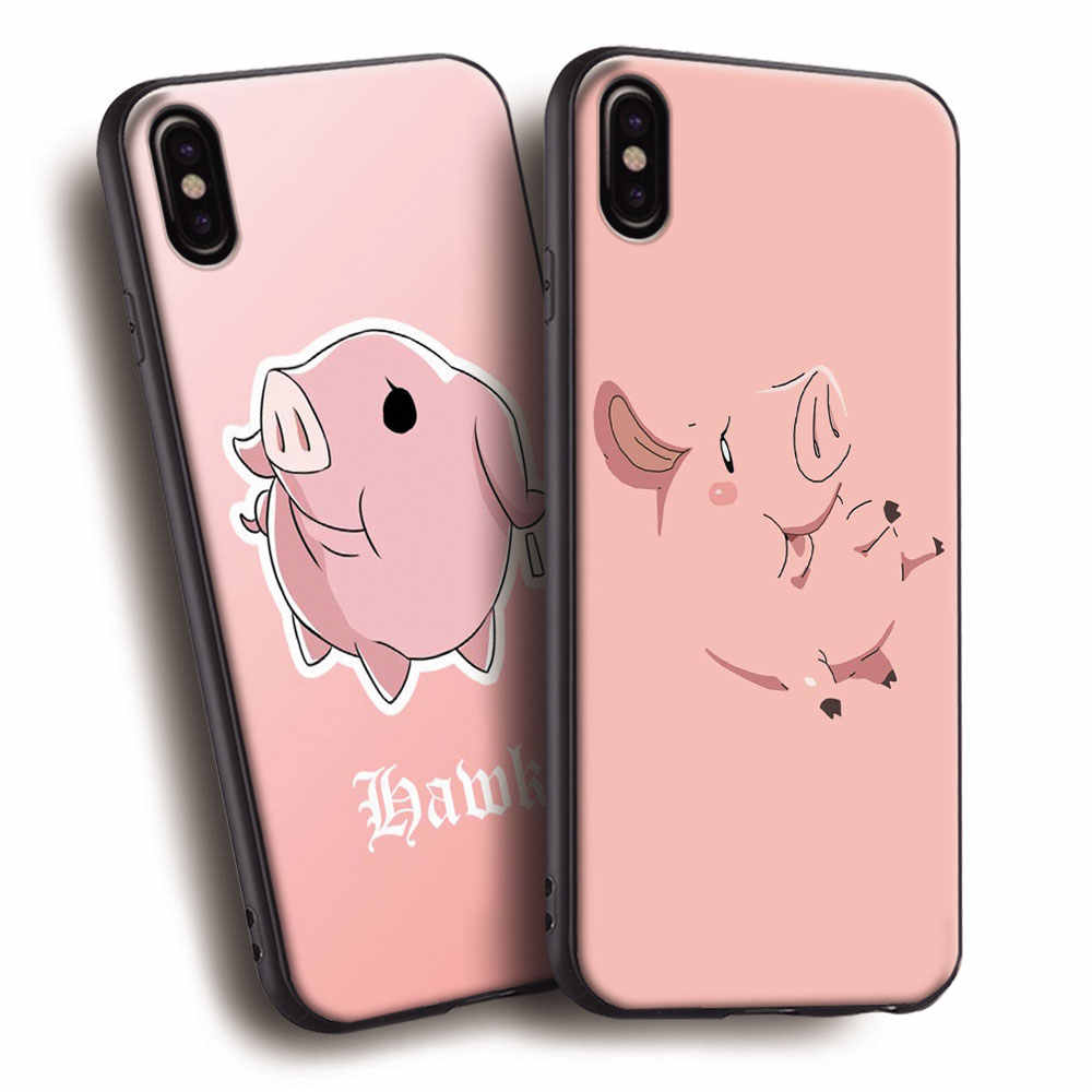 Hawk Seven Deadly Sins Nanatsu no Taizai Soft Silicone Phone Case Cover Shell For Apple iPhone 5 5s SE 6 6s 7 8 Plus X 10