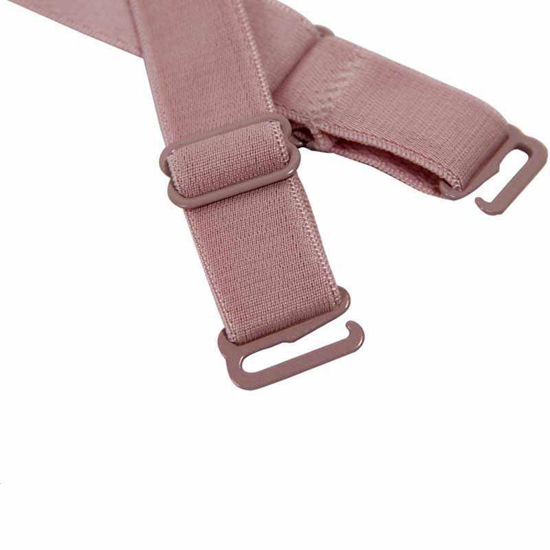 c1265a953a385 1 пара см 1,5 см карамельный цвет двойной плечевой регулируемый плечевой  ремень грудной пояс