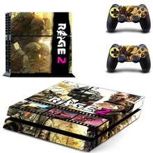 Rage 2 PS4 Skin Sticker Decal For Sony PlayStation 4 Console and 2 Controllers PS4 Skins Sticker Vinyl