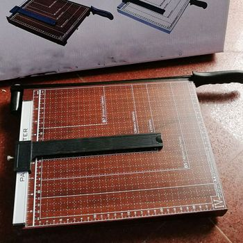 Профессиональный A4 Бумага Триммер карты гильотина Фото Резак Ремесло для дома/офиса/школы использования