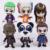 Esquadrão suicida O Joker Harley Quinn Killer Croc Capitão Boomerang Panda Man Enchantress 6-pack PVC Figuras Brinquedos Colecionáveis